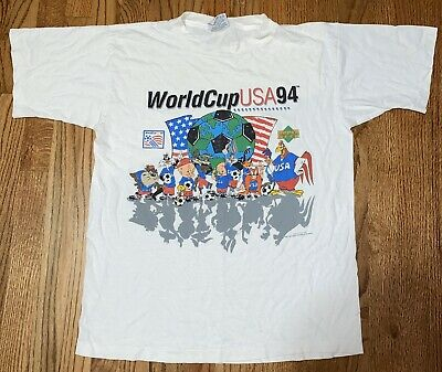 Vintage 1994 Upper Deck USA World Cup Soccer Looney Tunes Large Shirt