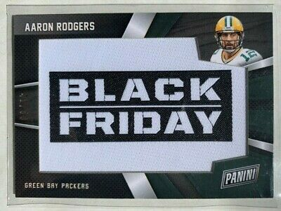 2018 Panini Black Friday Aaron Rodgers SSP 4150 Green Bay Packers QB No- AR