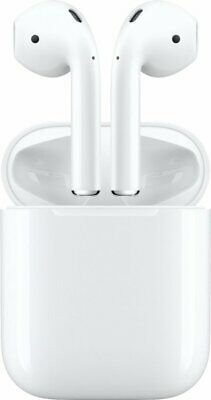 NEW Apple AirPods White MV7N2AMA Genuine 2nd Generation 2019 with Charging Case