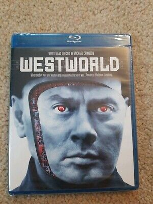 Westworld New Blu-ray Yul Brenner-