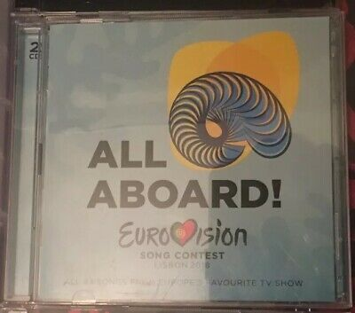 Eurovision Official 2018 CDs - 2 Discs