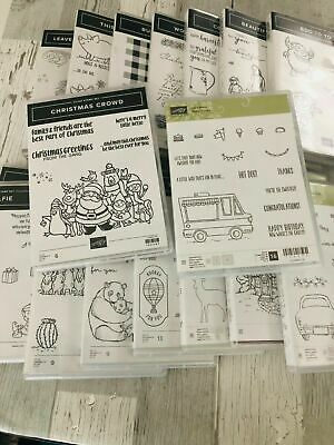 Stampin Up NEW sets you choose most retired all occasion birthday holiday Host