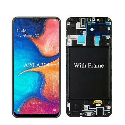 New LCD Screen Display Assembly Replacement For Samsung Galaxy A20 2019 SM-A205U