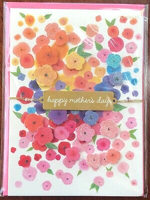 Papyrus HAPPY MOTHERS DAY Greeting Card Burst Of Flowers