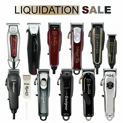 Wahl Professional Hair Clipper Shaver Detailer Saloon Barbershop Cord - Cordless