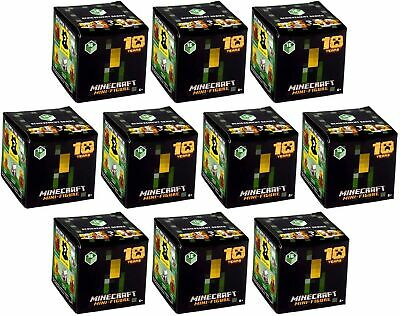 10 Minecraft Mini-Figures ACHIEVEMENT SERIES 16 10 Years Mystery Blind Box -