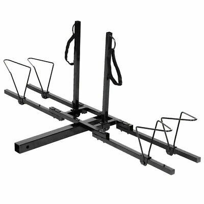 2 Bike Bicycle Carrier Hitch RACK Receiver 2 Heavy Duty Mount Rack Truck SUV