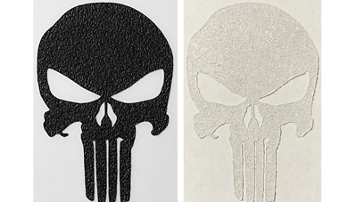 Punisher Clear or Black Rubber Grip Tape MULTIPLE SIZES Laptop Phone Bottle