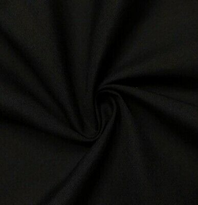 Black  Cotton Fabric 45 Width Sold By The Yard
