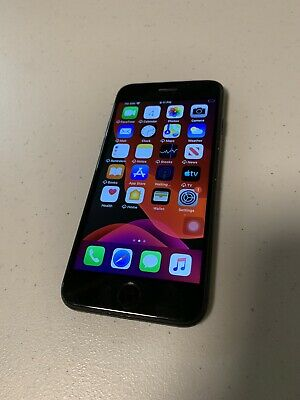 Apple iPhone 7 Refurbished Screen Black 128 GB Unlocked Home Button Not Working