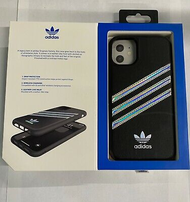 Adidas 3-Stripe Snap Series Case for Apple iPhone 11 - iPhone 11 Pro Max- Black