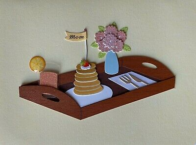 PAPYRUS New Mother's Day Greeting Card - Breakfast - 4-5 x 6
