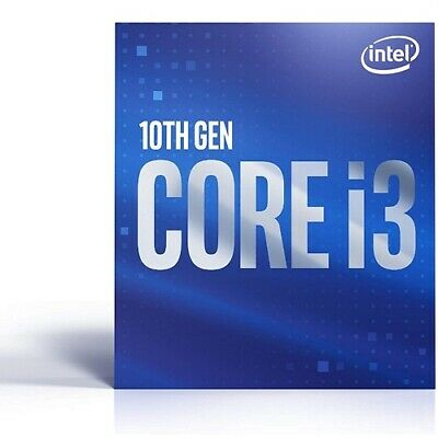 Intel Core i3-10100 Desktop Processor - 4 cores And 8 threads - Up to 4-30 GHz T