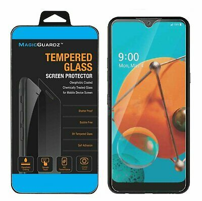 MagicGuardz® Clear 9H Tempered Glass Screen Protector For LG K51  LG Reflect