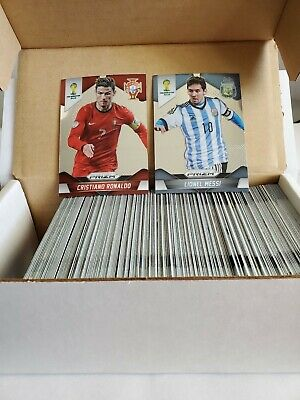 2014 Panini Prizm World Cup 201 Card Base Set Messi Ronaldo First Prizm Cards