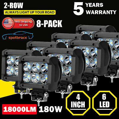 4Pcs 36 LED Car SUV Interior Decor Neon Atmosphere Light Strip Bar Music Control