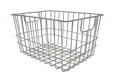 Metal Wire Baskets Set of 2 by Handcrafted 4 Home