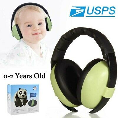 Baby Earmuffs Ear Hearing Protection Noise Cancelling Headphones For 0-2 Kids