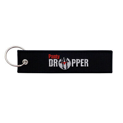 Panty Dropper Keychain Key Tag for Motorcycles Scooters Cars - Gifts