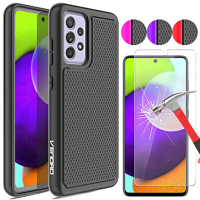 For Samsung Galaxy A12 A32 A42 5G A52 5G A71 5G Shockproof CaseScreen Protector
