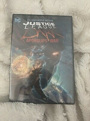 NEW - Justice League Dark Apokolips War DVD NEW AND SEALED