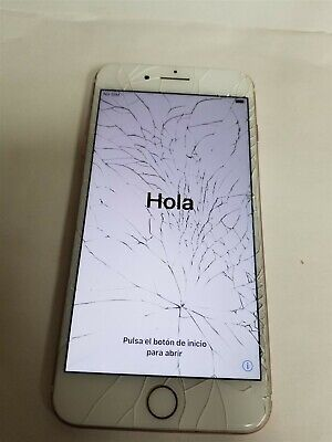 Apple iPhone 7 Plus 32GB Rose Gold A1784 Damaged See Details VD5962