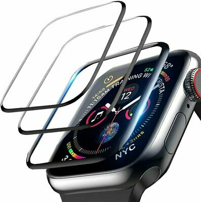3-Pack For Apple Watch 6 5 4 3 2 SE Full Screen Protector iWatch 3842 4044mm