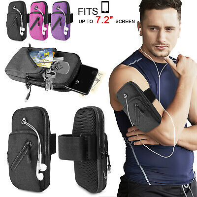 Armband Phone Holder Case Sports Gym Running Jogging Arm Band Bag For Cellphone