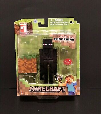 Minecraft Overworld Enderman 3 Figure - AccessoriesFully ArticulatedSeries 1