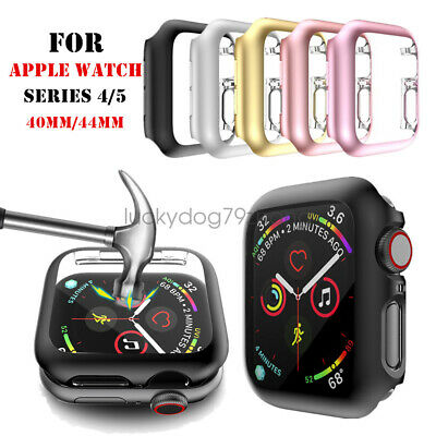 4044mm Screen Protector Case Snap On  iWatch SE Cover for Apple Watch 6 5 4