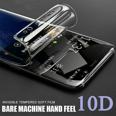 For Huawei P20 P30 P40 Pro Lite Mate Full Cover Hydrogel TPU Screen Protector