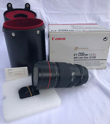 Canon EF200F/2,8L (ultrasonic ) with lens case LH-D18