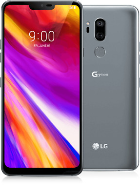 New LG G7 ThinQ 64GB Gray Smartphone GSM Unlocked for ATT or T-Mobile