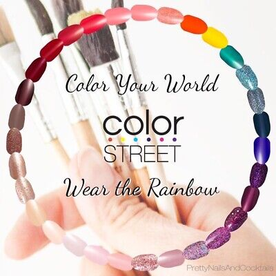 COLOR STREET Nail Strips - End of Summer Sale - Free Shipping Discounts