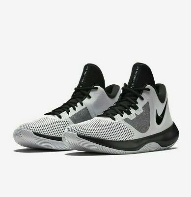 Nike Air Precision II Mens Basketball Shoes AA7069 100 White Black New In Box