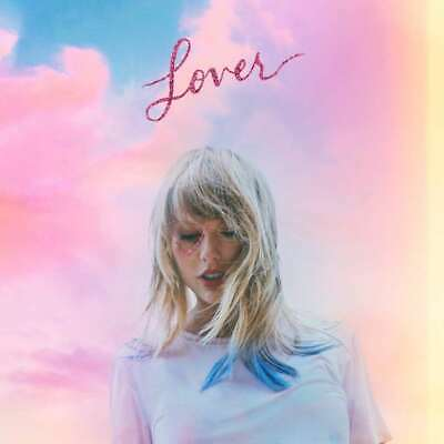 TAYLOR SWIFT - Lover - Double LP - Green - Pink Colored - 2x Vinyl Record
