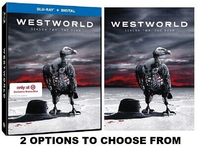 WESTWORLD THE COMPLETE SECOND SEASON  The Door  Options  Blu-Ray or DVD