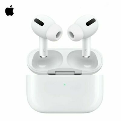 Apple AirPods Pro Wireless Earbuds - Wireless Charging Case White MWP22AMA New