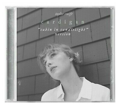 TAYLOR SWIFT - CARDIGAN Cabin in Candlelight LIMITED EDITION CD SINGLE FOLKLORE