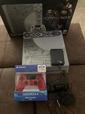 Sony PlayStation 4 Pro 1TB Limited Edition Leviathan Gray Console - God of-