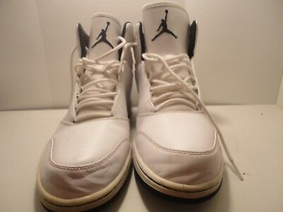 White Nike Jordan 1 Flight 5 Premium Mens Sneakers Shoes US Size 12