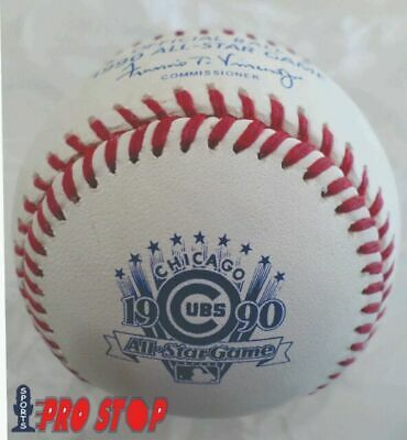 Official 1990 Rawlings ALL STAR Game Baseball - CHICAGO CUBS