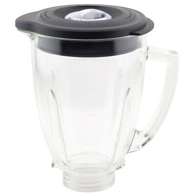 6-Cup Glass Jar 124461 with Lid Compatible with Oster Classic Series Blender