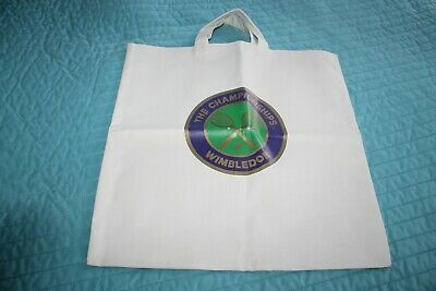 NWOT WIMBLEDON The CHAMPIONSHIPS Tennis tote bag