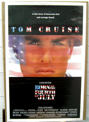 Born on The Fourth of July-original 1989 Movie Poster