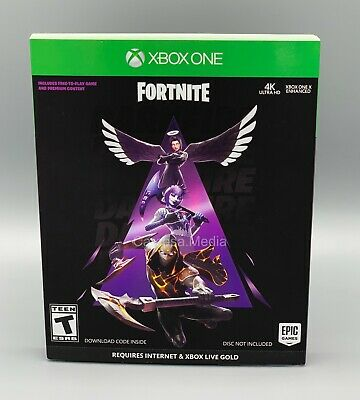 Fortnite Darkfire Bundle Microsoft Xbox One 2019 With Slipcover