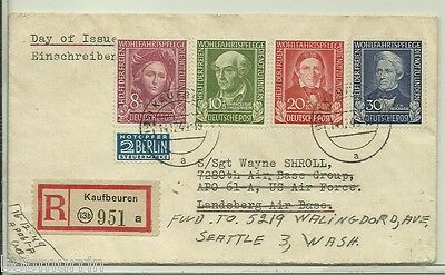 Germany B310-3 First Day Cover