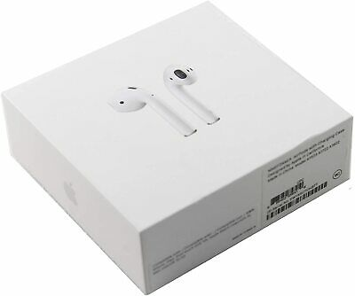 Apple AirPods 2nd Generation Wireless Earbuds - Charging Case MV7N2AMA New H1