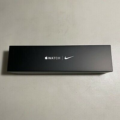 Apple Watch Series 5 Nike 44MM - EMPTY BOX ONLY - Space Gray Alu - NO WATCH