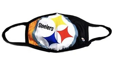 Pittsburgh Steelers NFL Football Face Mask Reusable Washable Mouth Cover